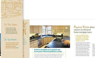 mortgage newsletter writing service